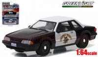 グリーンライト HOT PURSUIT #21 1990 マスタング SSP CHP 1:64