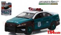 グリーンライト HOT PURSUIT #21 2014 フォード ポリス インターセプター NYPD 1:64