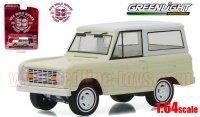 グリーンライト アニバーサリーコレクション #4 1966 フォード ブロンコ 50Years 1:64