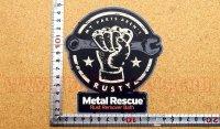 Metal Rescue ステッカー(L) 縦13.5�×横12.5�