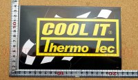 COOL IT Thermo Tec ステッカー(L) 縦12.5�×横19.6�