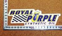 ROYAL PURPLE ステッカー(M) 縦5.9�×横8.5�