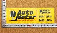 Auto Meter ステッカー(M) 6枚綴り