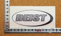 DEIST ステッカー(M) 縦5.1�×横12.5�