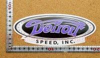 Detroit Speed ステッカー(M) 縦7.3�×横18.5�