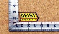 DEIST SAFETY ステッカー(S) 小3枚セット 縦1.6�×横3.3�