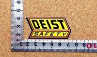 DEIST SAFETY ステッカー(S) 大 縦2.7�×横6.0�