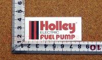 Holley ステッカー(S) ステンレスカラー 縦2.9�×横6.6�