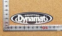Dynamat ステッカー(S) 縦3.1�×横10.3�