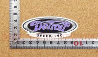 Detroit Speed ステッカー(S) 縦3.3�×横8.2�