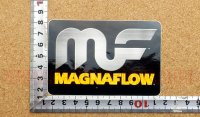 MAGNA FLOW ステッカー(S) 縦6.9×横10.2�