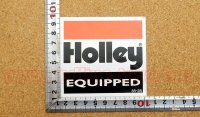 Holley ステッカー(S) 縦8.2�×横8.8�