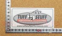 TUFF STUFF ステッカー(S) 縦6.1�×横12.8�