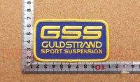 GSS ワッペン 縦5.6�×横9.6�