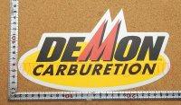 DEMON CARBURETION ステッカー(LL) 縦15�×横25.3�