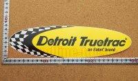 Detroit Truetrac ステッカー(LL) 縦7.3�×横28.0�