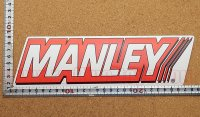 MANLEY ステッカー(LL) 縦7.6�×横27.5�