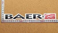 BAER ステッカー(LL) 縦3.0�×横25.0�
