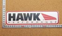 HAWK PERFORMANCE ステッカー(LL) 縦7.8�×横25.5�