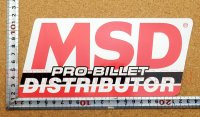 MSD ディストリビューター ステッカー タイプ1(LL) 縦10.3�×横22.4�
