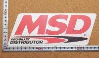 MSD ディストリビューター ステッカー タイプ2(LL) 縦8.6�×横23.5�
