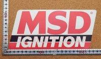 MSD イグニッション ステッカー タイプ1(LL) 縦10.3�×横22.4�