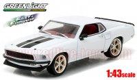グリーンライト FAST&FURIOUS(ワイルド・スピード) ROMAN'S 1969 フォード マスタング 1:43