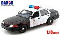 DARON 2001 フォード クラウンビクトリア LOS ANGELES POLICE DEPARTMENT (LAPD)  1:18