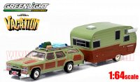 グリーンライト HITCH&TOW  「National Lampoon's Vacation」 F-100 & WAGON QUEEN 1:64