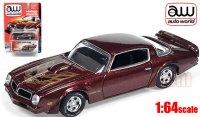 Autoworld 1976 ポンティアック ファイヤーバード トランザム バーガンディ 1:64