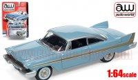 Autoworld 1958 プリムス フューリー HT ライトブルー 1:64