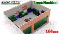 GL MECHANIC'S CORNER #1 STP ウィークエンド ワークショップ ジオラマ 1:64 GreenMachine