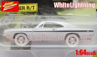 JL 1969 ダッジ チャージャー R/T 「DIRTY MARY CRAZY LARRY」 1:64 WhiteLightning