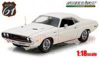 ハイウェイ61 1970 ダッジ チャレンジャー R/T ホワイト 1:18