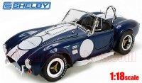 シェルビーコレクティブルズ 1965 シェルビー コブラ 427 S/C ブルー/ホワイトストライプ 1:18