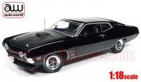 オートワールド 1970 フォード トリノ コブラ ブラック 1:18