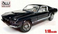 オートワールド 1967 シェルビー GT500 50th Anniv. ダークブルー 1:18