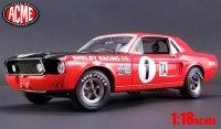 ACME 1968 Jerry Titus シェルビー GT350 レッド 1:18