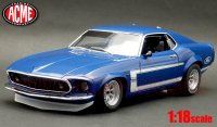 ACME 1969 BOSS 302 トランザム マスタング ストリートver. 1:18<img class='new_mark_img2' src='//img.shop-pro.jp/img/new/icons1.gif' style='border:none;display:inline;margin:0px;padding:0px;width:auto;' />