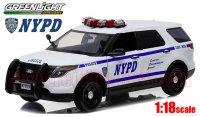 グリーンライト 2015 フォード ポリス インターセプター ユーティリティ NYPD 1:18