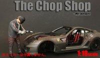 アメリカンジオラマ The Chop Shop フィギュア Mr.Welder 1:18