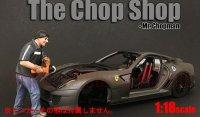 アメリカンジオラマ The Chop Shop フィギュア Mr.Chopman 1:18