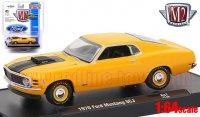 M2 AutoDrivers #47 1970 フォード マスタング SCJ オレンジ 1:64