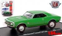 M2 AutoDrivers #47 1968 シボレー カマロ SS 350 グリーン 1:64