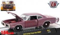 M2 Detroit Muscle #41 1970 ダッジ スーパービー HEMI バーガンディ  1:64
