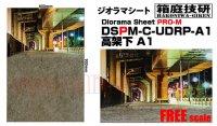 箱庭技研 ジオラマシート PRO-M 高架下 A1 ■1:18、1:24スケール対応