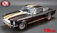 ACME 1966 シェルビー GT350H ストリート Ver. ブラック/ゴールドストライプ 1:18