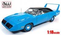 オートワールド 1970 プリムス スーパーバード 50th Anniv.of Plymouth Road Runner Looney Tunes ペティ・ブルー 1:18