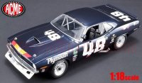 ACME 1970 プリムス トランザム クーダ Dan Gurney #48 1:18