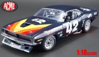 ACME 1970 プリムス バラクーダ Swede Savage #42 ブラック 1:18<img class='new_mark_img2' src='//img.shop-pro.jp/img/new/icons1.gif' style='border:none;display:inline;margin:0px;padding:0px;width:auto;' />